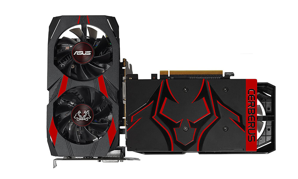 ASUS Cerberus GeForce GTX 1050 Ti