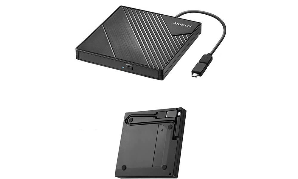 RODZON USB 3.0 CDDVD Reader and Writer